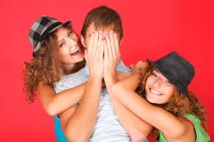 Positive emotions Stock Photos