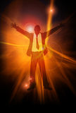 Positive Energy Royalty Free Stock Photo