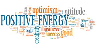 Positive energy Stock Images