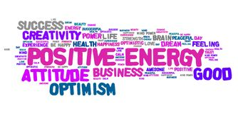 Positive energy Royalty Free Stock Photography