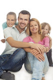Positive family emotions Stock Photo