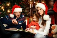 Positive family Royalty Free Stock Photo