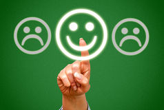 Positive feedback Royalty Free Stock Photos