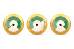Positive feedback indicator set. Vector illustration. Positive feedback indicator set, vector Stock Photography