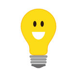 Positive feeling icon. Thinking  design. Vector graphic Royalty Free Stock Photos