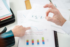 Positive financial results Royalty Free Stock Photos