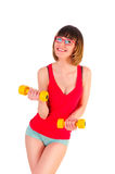 Positive fitness Stock Image