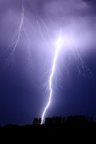 Positive flash lightning Stock Photography