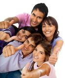 Positive friends Royalty Free Stock Images