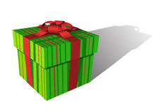 Positive gift box Stock Photography