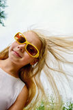 Positive girl Royalty Free Stock Images