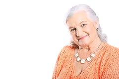 Positive grandma Stock Photos