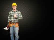 Positive handyman Royalty Free Stock Photo