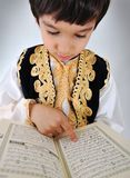 Positive kid muslim Stock Image