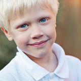 Positive little boy Royalty Free Stock Photos