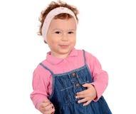 Positive little girl Royalty Free Stock Photos