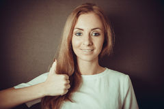 Positive look Royalty Free Stock Photography