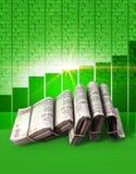 Positive Market Money Royalty Free Stock Photo