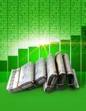 Positive Market Money Stock Image