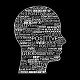Positive mind Royalty Free Stock Photography