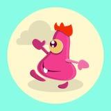 Positive mood vector character Stock Photo