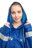Positive nurse Stock Photography