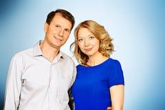 Positive Paare Stockfotografie
