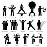 Positive Personalities Character Traits Clipart Stock Photography