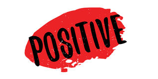Positive rubber stamp Stock Photos