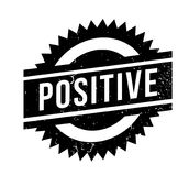 Positive rubber stamp Royalty Free Stock Photography