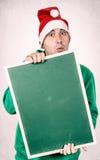 Positive Santa Royalty Free Stock Photography