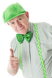 Positive Senior Irishman Stock Photos