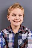 Positive smiling little boy, portrait. Royalty Free Stock Image