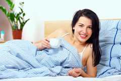 Positive start of a new day Royalty Free Stock Image