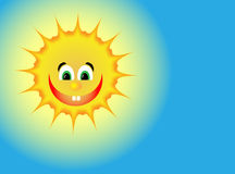 Positive sun Royalty Free Stock Photography