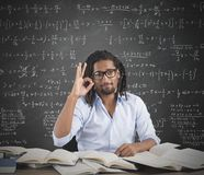 Positive teacher Stock Photography