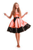 Positive teen girl Royalty Free Stock Photography