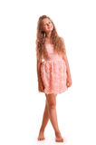 Positive teen girl Royalty Free Stock Images