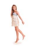 Positive teen girl Stock Images