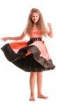 Positive teen girl Royalty Free Stock Image