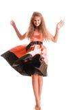 Positive teen girl Stock Photos
