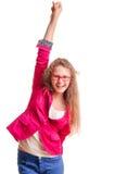 Positive teen girl Stock Photography