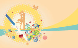 Positive test of pregnancy vector illustration