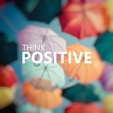 Positive Thinking. Background colorful umbrella. Royalty Free Stock Photos