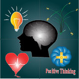 Positive thinking for balance of life Stock Photos