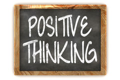 Positive Thinking Concept Blackboard Royalty Free Stock Images