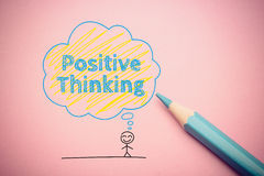 Positive thinking Royalty Free Stock Image