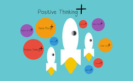 +Positive Thinking. + Positive Thinking Illustrations & Clipart Stock Photography