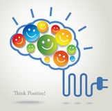 Positive thinking. Success. Royalty Free Stock Image