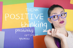Positive Thinking Royalty Free Stock Photo